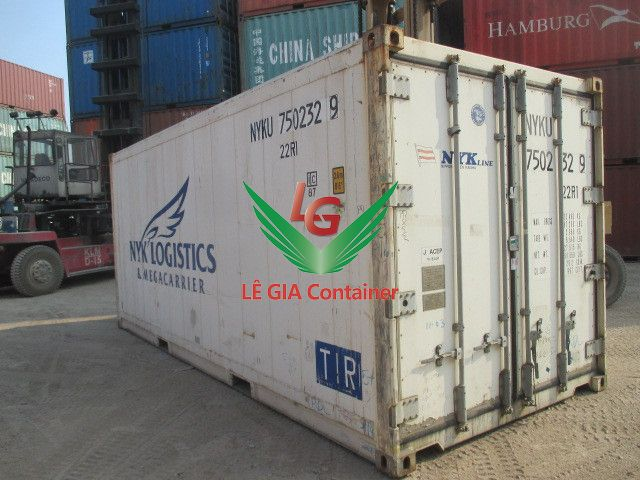 Container lạnh 20 feet mẫu 1