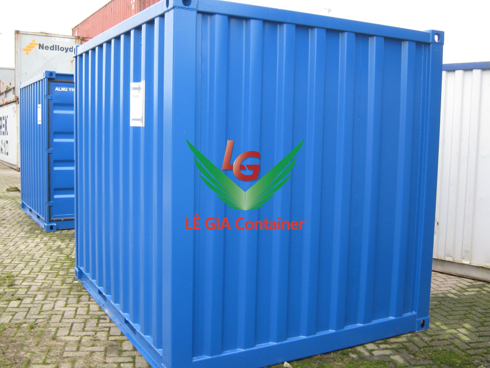 Container khô 10 feet (10ft dry cont.) mẫu 2
