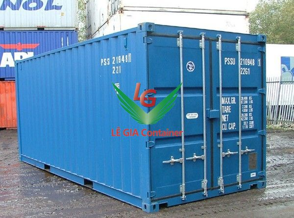 Container khô 20 feet (20ft dry cont.) thấp
