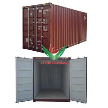 Container khô 20 feet (20ft dry cont. HC) cao 2
