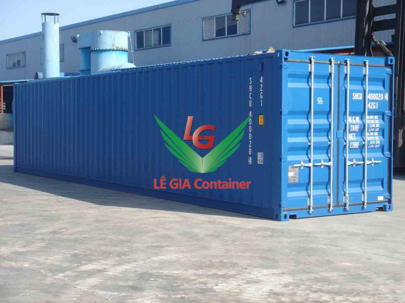 Container khô 40 feet (40ft dry cont.) thấp
