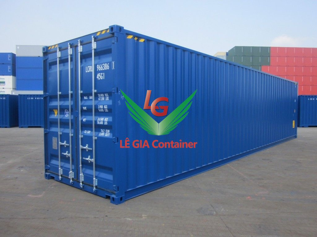 Container khô 40 feet (40ft dry cont.) cao 2