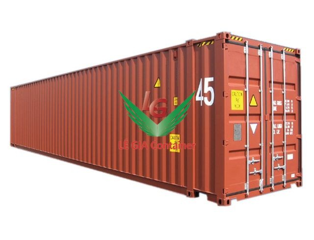 Container khô 45 feet (45ft dry cont.) mẫu 2