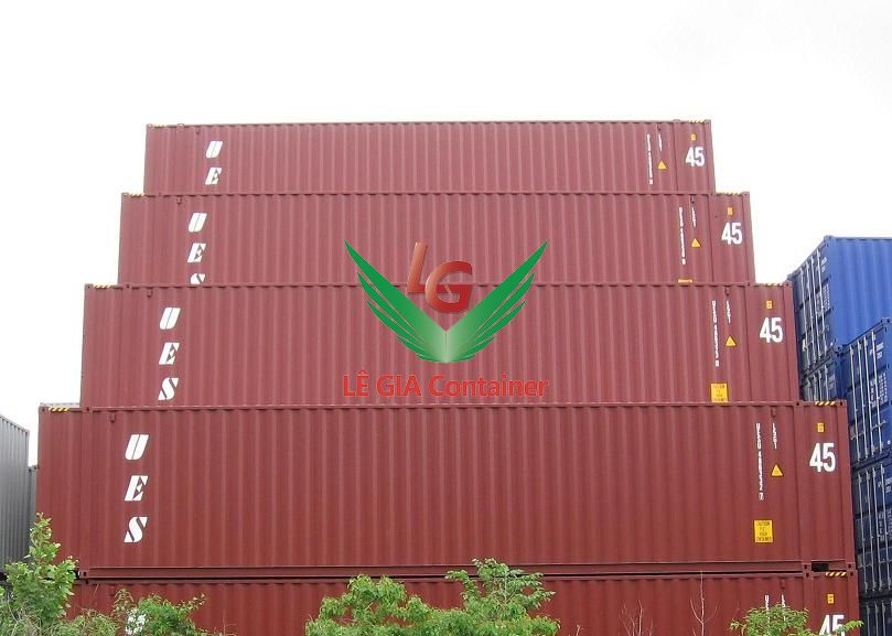 Container khô 45 feet (45ft dry cont.) cao
