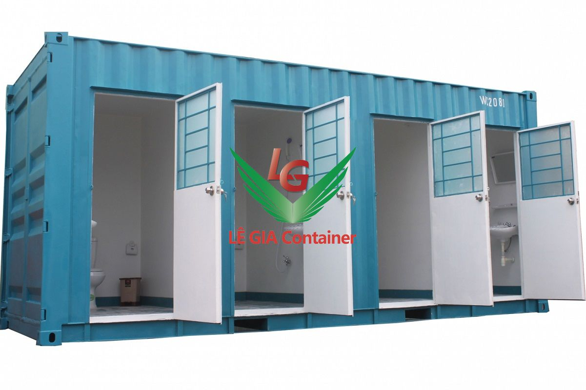 Container Toilet 20 feet mẫu 4